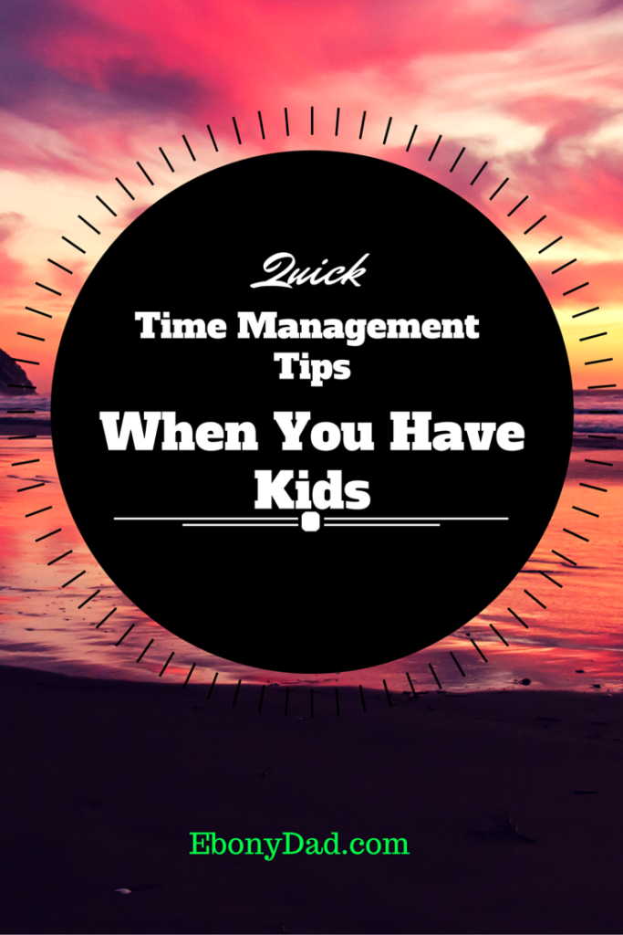 Learn to Manage Yourself For Your Kids