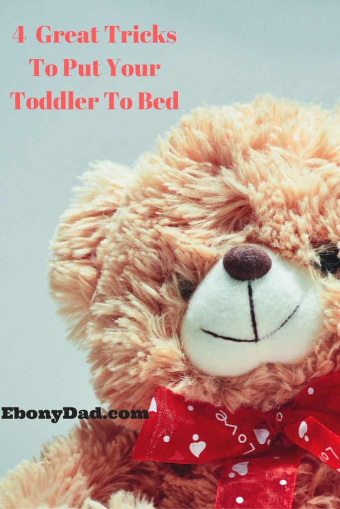 4 Tricks To Putting Your Toddler in Bed